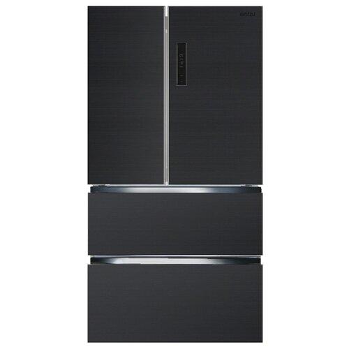 Холодильник Ginzzu NFK-470 Dark gray