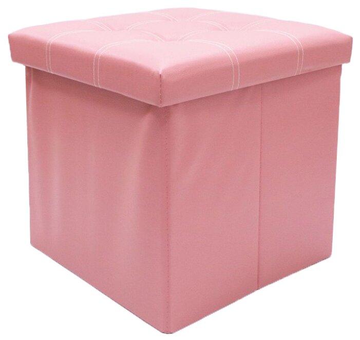 Пуфик с ящиком для хранения Удачная покупка RYP56-38 искусственная кожа