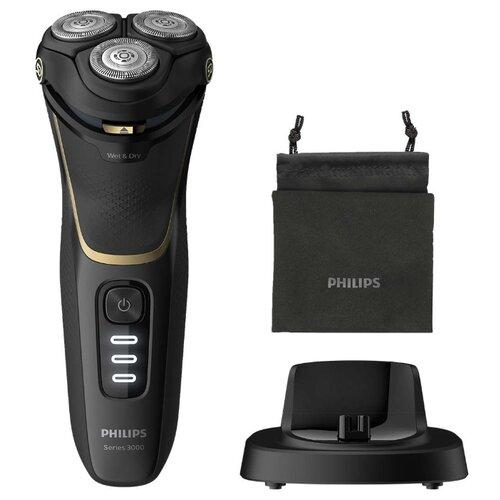 Электробритва Philips S3333 Shaver 3300 black электробритва philips s1310