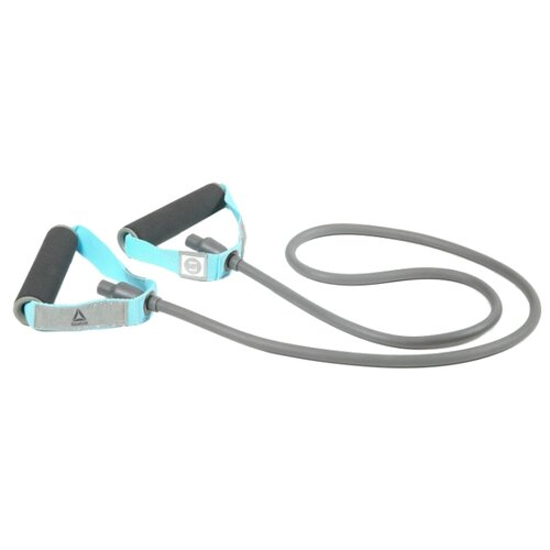 Эспандер универсальный REEBOK RATB-11030 135 см голубой/серый reebok 4 кг штука голубой [rawt 11054cy]