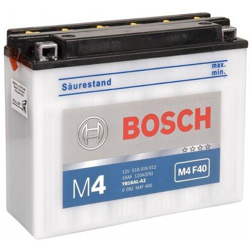 Мото аккумулятор Bosch M4 F40 (0 092 M4F 400)