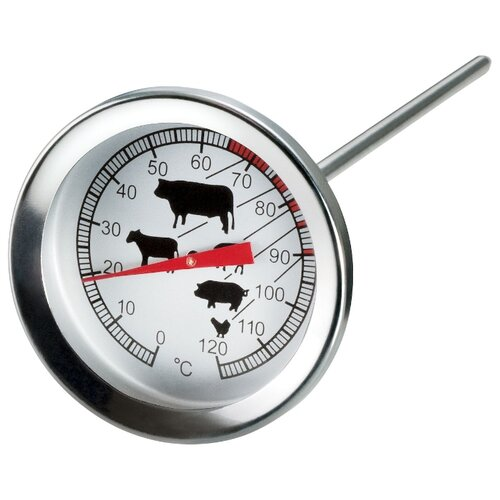 Термометр Mallony Termocarne 003540 серебристый
