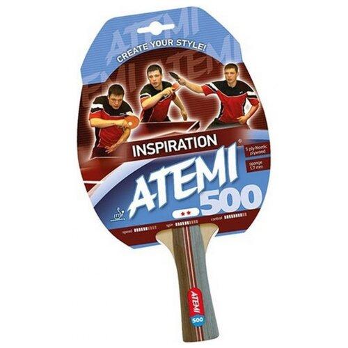 Ракетка для настольного тенниса ATEMI 500 CV цена 2017
