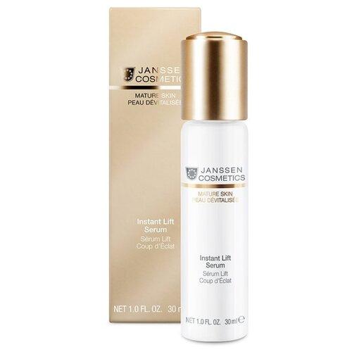 Фото - Сыворотка Janssen Cosmetics Mature Skin Instant Lift, 30 мл janssen cosmetics all skin needs face guard advanced основа солнцезащитная spf 30 с uva uvb и ir защитой 30 мл