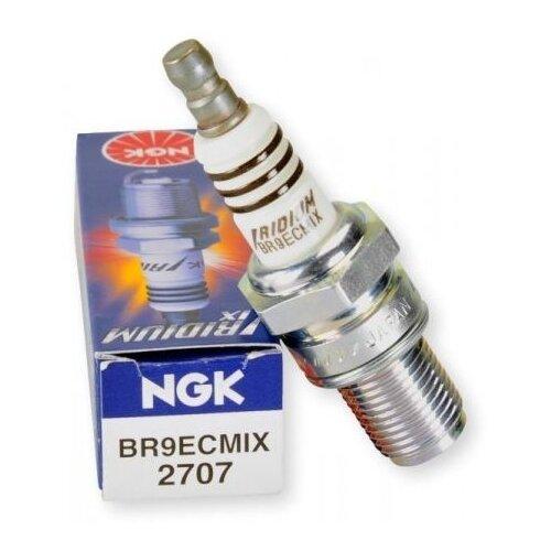 Свеча зажигания NGK 2707 BR9ECMIX 1 шт.