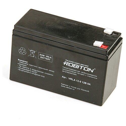 цена на Аккумуляторная батарея ROBITON VRLA 12-9 9 А·ч