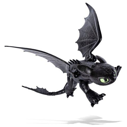Фигурка Spin Master Dragons Дракон Беззубик с подвижными крыльями 20103621, Игровые наборы и фигурки  - купить со скидкой