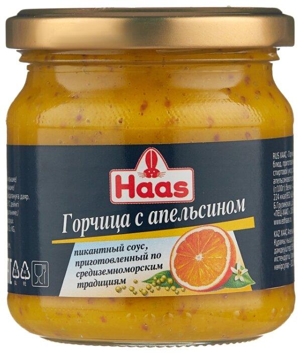 Горчица Пец Хаас с апельсином 200г