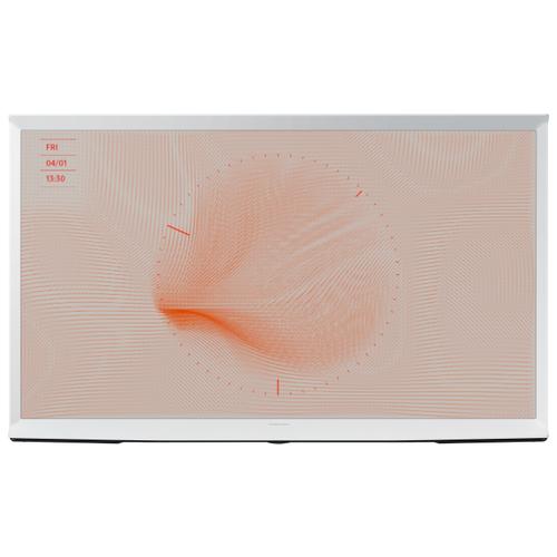 Фото - Телевизор QLED Samsung The Serif QE55LS01RAU 55 (2019) белый qled телевизор samsung qe55ls01rau the serif