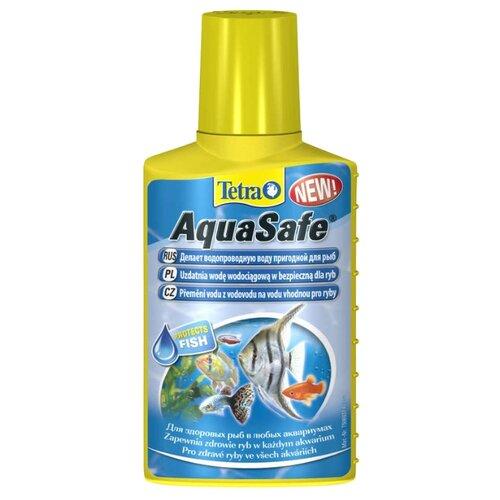 Фото - Tetra AquaSafe средство для подготовки водопроводной воды, 100 мл tetra torumin средство для подготовки водопроводной воды 250 мл