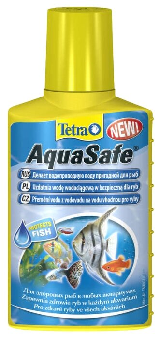 """Препарат """"Tetra Aqua Safe"""" для подготовки водопроводной воды"""