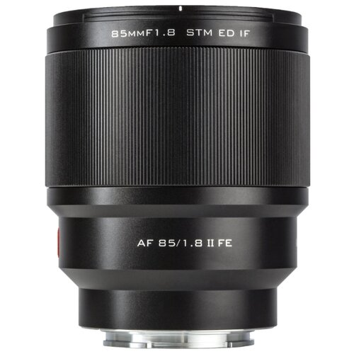 Фото - Объектив Viltrox AF 85MM F1.8 FE-Mount Mark II черный объектив viltrox af 56mm f 1 4 fujifilm x mount черный