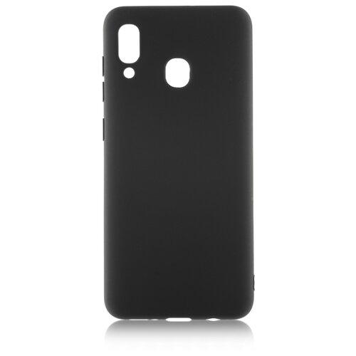 Чехол Rosco SS-A20-COLOURFUL для Samsung Galaxy A20 SM-A205F черный