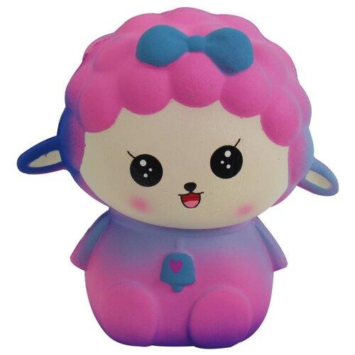 Игрушка-мялка 1 TOY Мммняшка Squishy Овечка Т14696 розовый