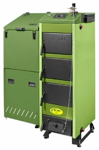 Твердотопливный котел SAS SLIM 36 36 кВт одноконтурный