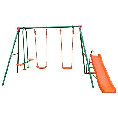 Купить Спортивно-игровой комплекс DFC MSN-01 зеленый/оранжевый, Игровые и спортивные комплексы и горки