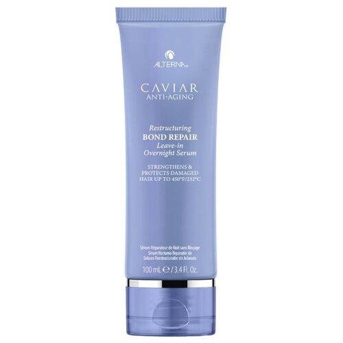 Alterna Caviar Anti-Aging Restructuring Регенерирующая ночная сыворотка для омоложения волос, 100 мл фото