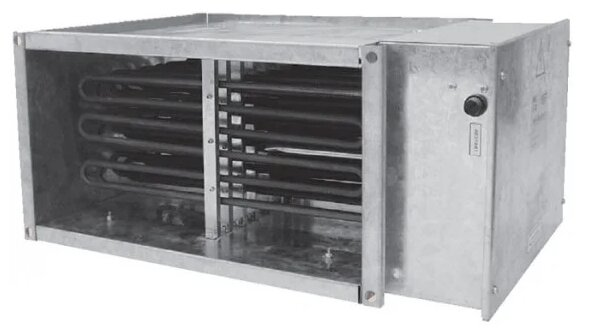 Электрический канальный нагреватель Аэроблок EHR 500x300/15