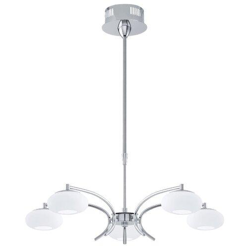 Люстра светодиодная Eglo Aleandro 1 96529, LED, 22.5 Вт люстра максисвет геометрия 1 1696 6 cr y led