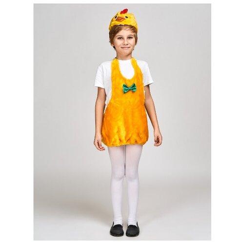 Купить Костюм Радомир Цыпленок (С1017), желтый, размер 104-134, Карнавальные костюмы