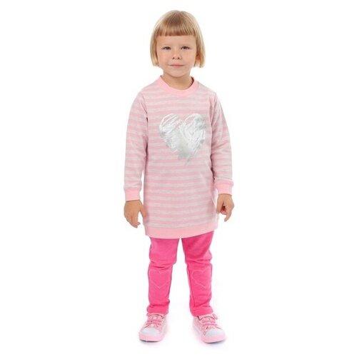 Леггинсы V-Baby 57-041 размер 122, розовый