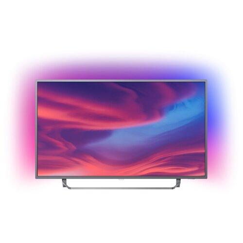 Телевизор Philips 50PUS7303 50 (2018) темно-серебристый телевизор philips 50pus7303 50 2018 темно серебристый