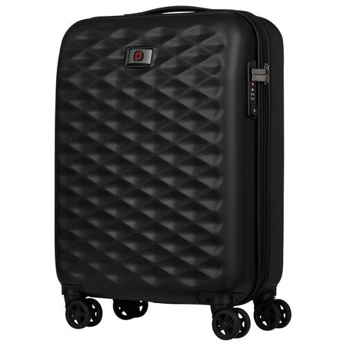 Чемодан WENGER Lumen S 32 л, черный чемодан wenger zurich ii цвет черный 48 см x 30 см x 72 см 104 л