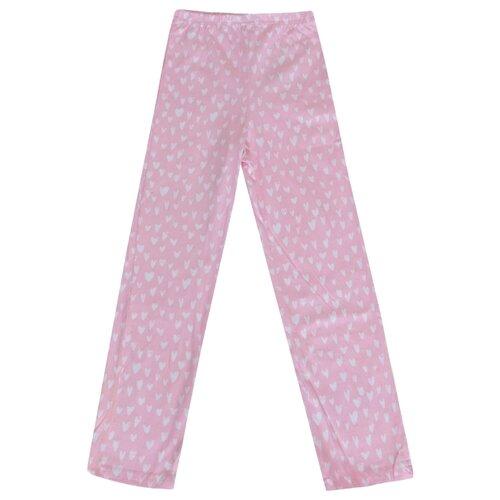 Брюки KotMarKot размер 134, розовый