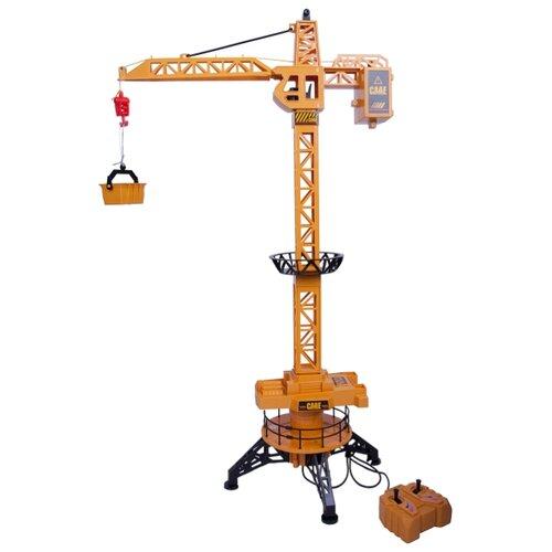 Купить Подъемный кран BONDIBON ВВ4087 1:40 желтый, Радиоуправляемые игрушки