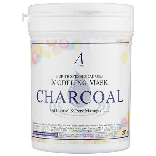 Anskin маска альгинатная Charcoal для жирной кожи с расширенными порами, 240 г, 700 мл альгинатная маска charcoal