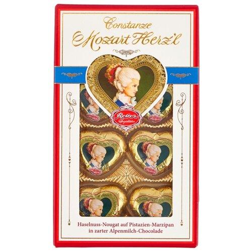 набор конфет reber constanze mozart kugeln 240 г Набор конфет Reber Constanze Mozart Herz'l 80 г