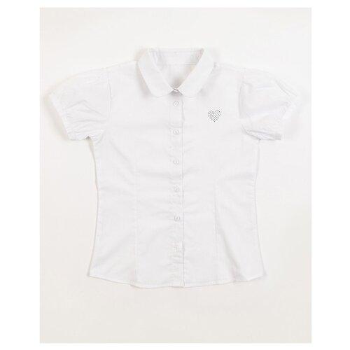 Блузка MODIS размер 158, белый шорты джинсовые modis modis mo044ebfclm4