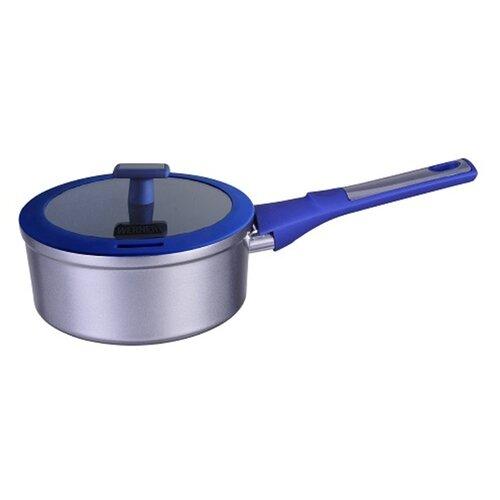 Ковш GIPFEL WERNER SOFFY 1,3 л, серый/синий ковш gipfel batista 2687 1 4 л серый