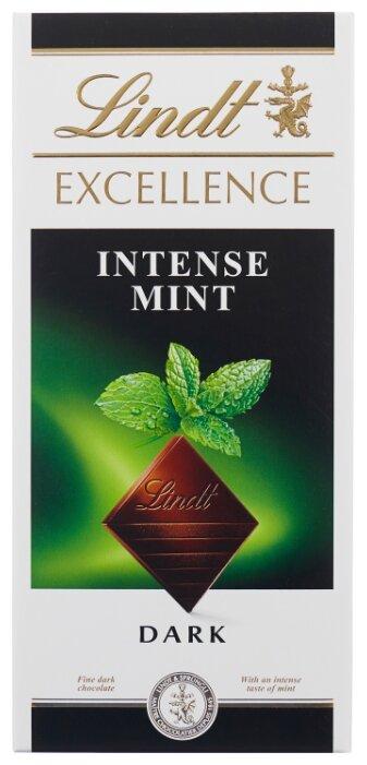 Шоколад Lindt Excellence темный с мятой, 47% какао