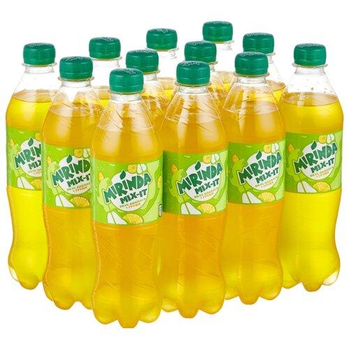 Газированный напиток Mirinda Mix-It ананас-груша, 0.5 л, 12 шт.