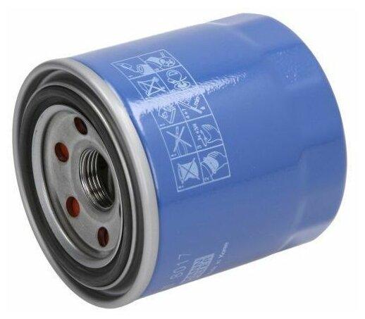 Масляный фильтр MANNFILTER W8017