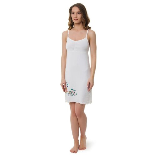 Сорочка Evelena размер XS белый платье oodji ultra цвет красный белый 14001071 13 46148 4512s размер xs 42 170