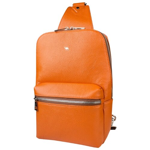 Рюкзак Dimanche 818, натуральная кожа, апельсин рюкзак dimanche dimanche di042bwbzyt0