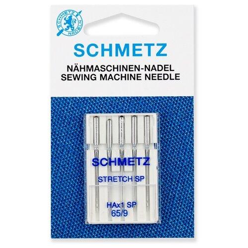 Игла/иглы Schmetz Super Stretch Special 130/705 НAx1 SP 65/9 серебристый