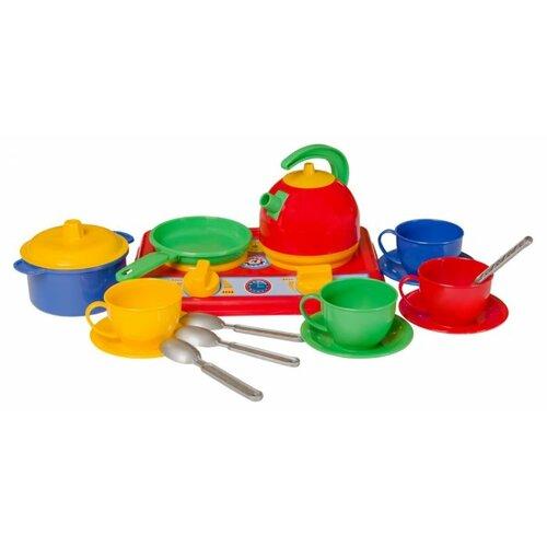 Купить Кухня ТехноК Галинка 5 1851 красный/зеленый/желтый/голубой, Детские кухни и бытовая техника