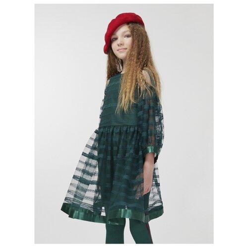 Купить Платье Смена размер 134/64, зеленый, Платья и сарафаны