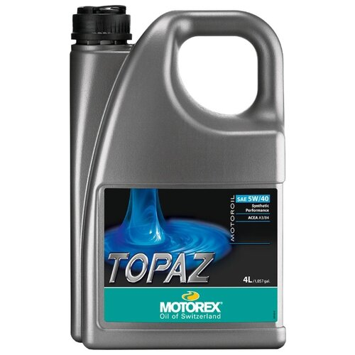 Фото - Синтетическое моторное масло Motorex Topaz 5W-40 4 л синтетическое моторное масло motorex power synt 4t 5w 40 4 л