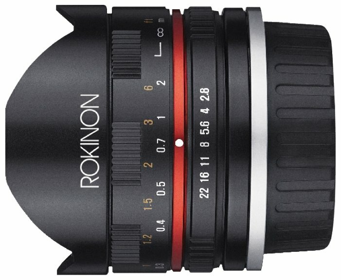 Объектив Rokinon 8mm f/2.8 UMC Fisheye II Sony-E (RK8MBK28-E)
