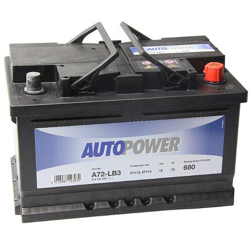 Автомобильный аккумулятор Autopower A72-LB3 аккумулятор