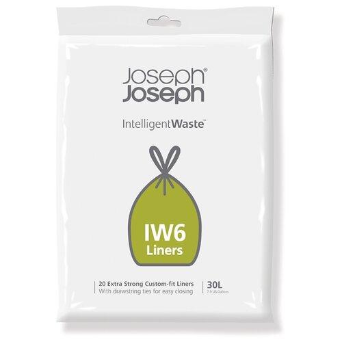 Мешки для мусора Joseph Joseph 30058 30 л, 20 шт., черный