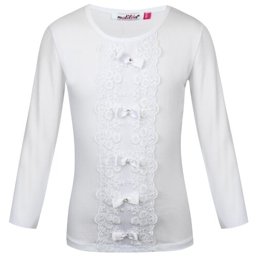 Блузка Matilda размер 164, белый цена 2017