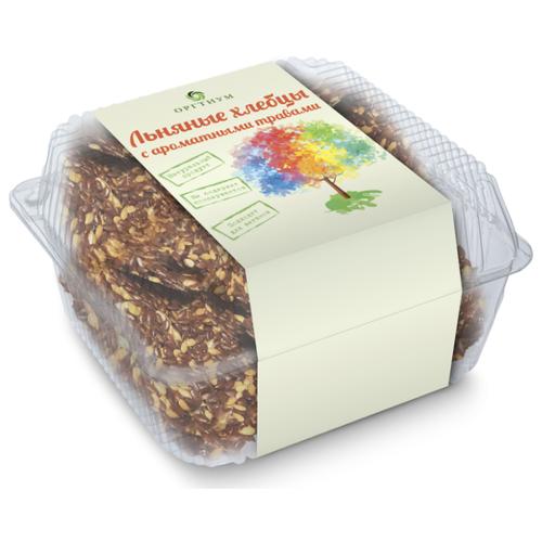 Хлебцы льняные Оргтиум с ароматными травами 85 г