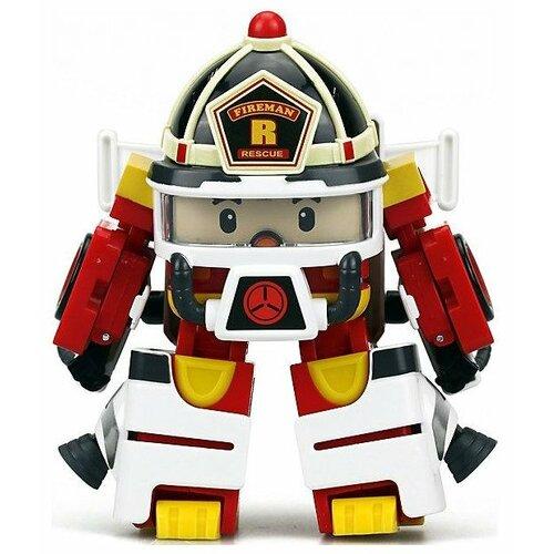 Купить Трансформер Silverlit Robocar Poli Рой 10 см с костюмом астронавта белый/желтый/красный, Роботы и трансформеры