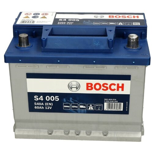 цена на Автомобильный аккумулятор Bosch S4 005 (0 092 S40 050)