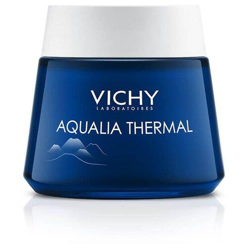 Vichy Aqualia Thermal ночной Spa-уход крем-гель для лица, 75 мл vichy aqualia thermal увлажняющая сыворотка для всех типов кожи лица 30 мл